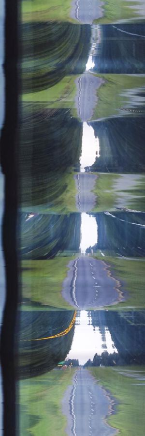 American Glitch: Neo Regionalism - Highways - Sky, Road #2