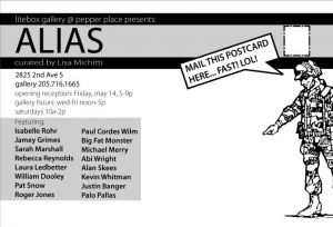 Alias Show Card